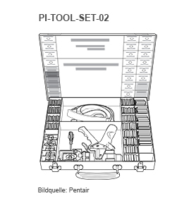 Pentair PI Tool set 02